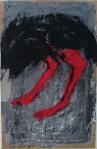 n (126)autruche, 70x50cm -Mixed media on canvas-2006