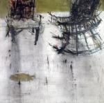WM6 Walid EL-MASRI 'Untitled' 180 X 180 cm. Oil on Canvas 2007