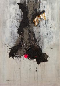 Sacred tree 95x63CM -mixed media on canvas-2013-