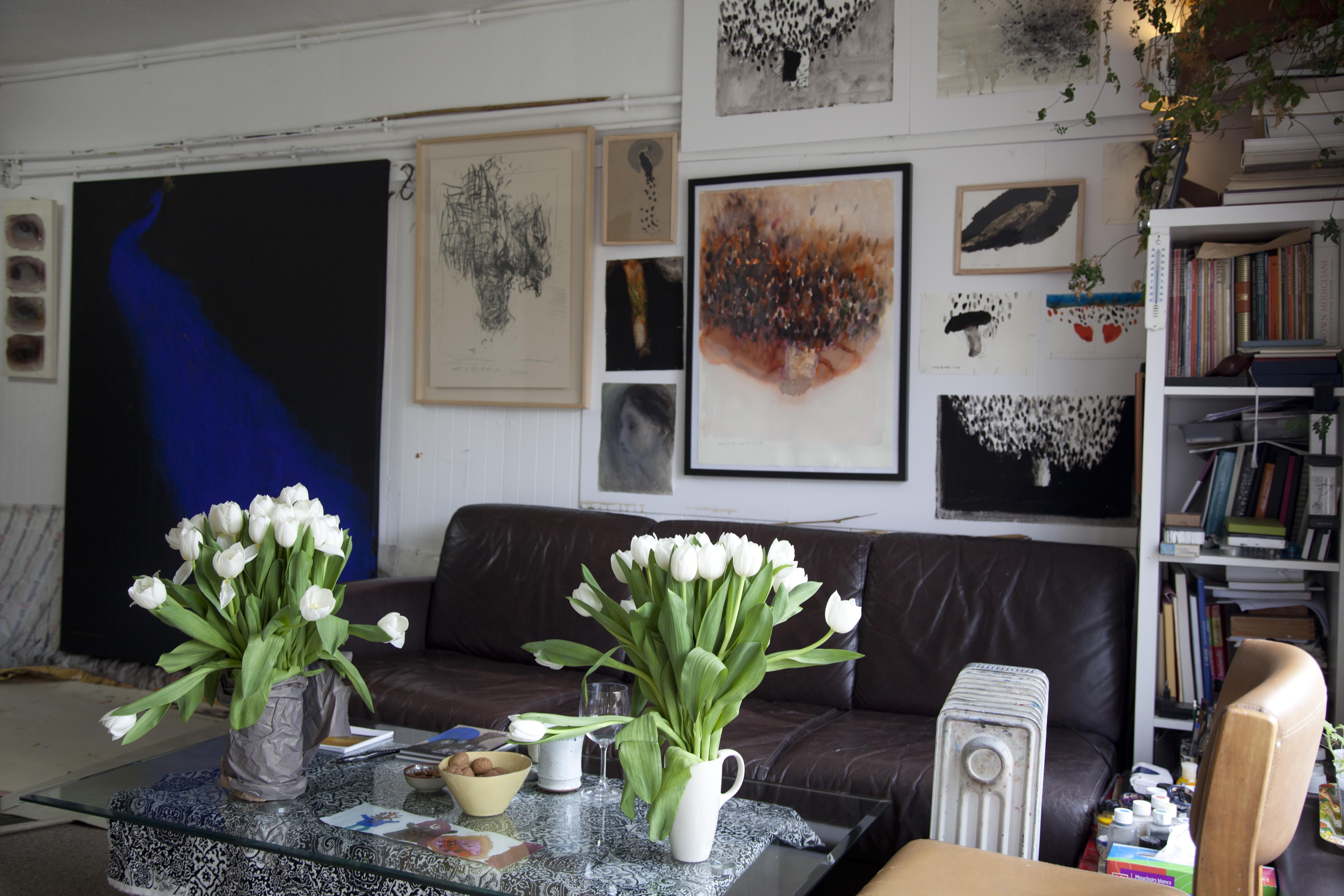 tulipes blanche