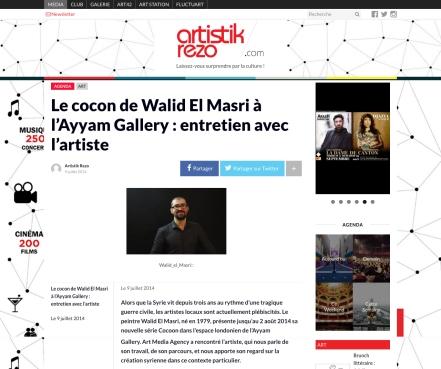 Art Media Agency artistik rezo