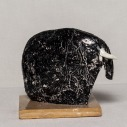 WALID EL MASRI - Elefant 45- 2010-2011 ceramic-15,7x24,2x9 cm