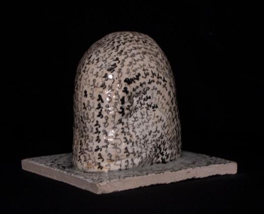 WALID EL MASRI - Elefant 63- 2010-2011 ceramic-16,5x21x12,2 cm4