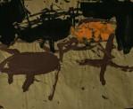 WALID EL MASRI _Chairs- 2005 mixed media on paper 62x75 cm