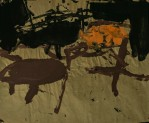 WALID EL MASRI _Chairs- 2005 mixed media on paper 62x75 cm