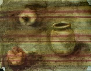 WALID EL MASRI 2002 Still life 51x38 cm